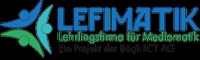 Logo Lefimatik Lehrlingsfirma IT Dienstleistungen